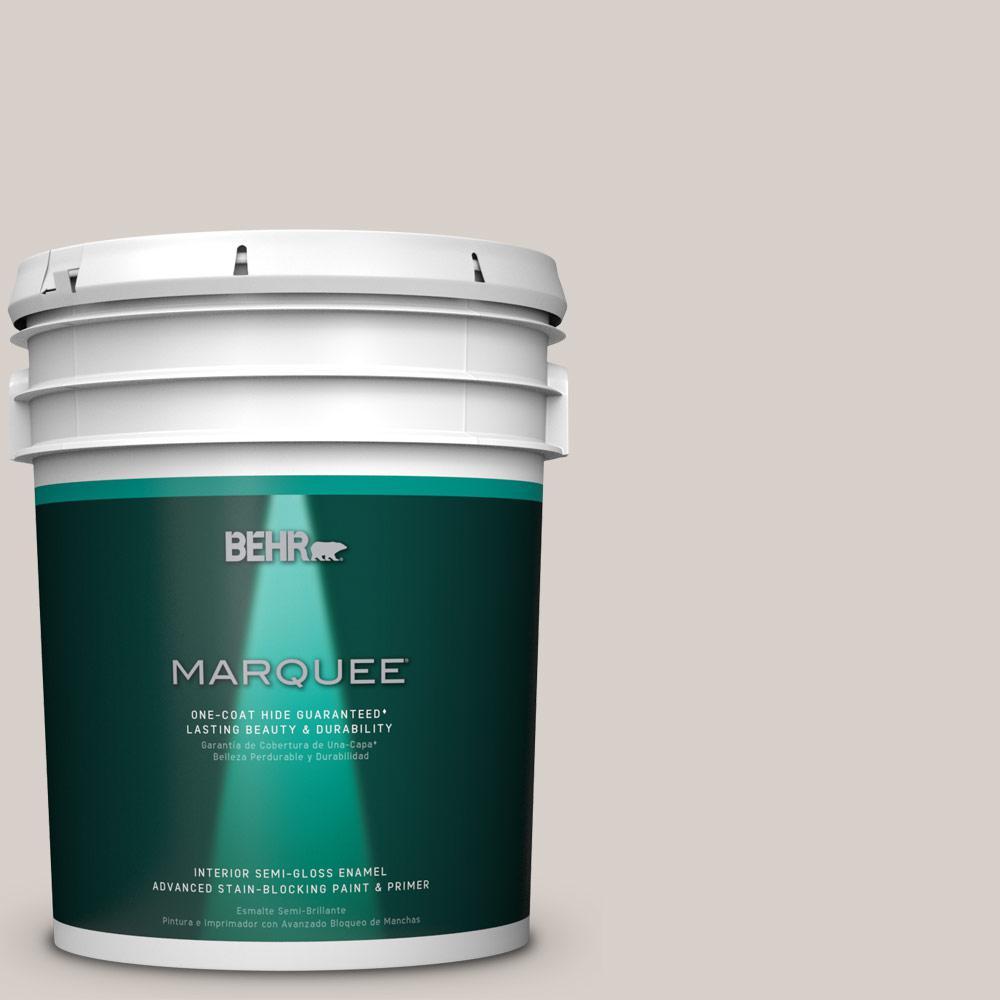 5 gal. #T16-19 Bowstring Semi-Gloss Enamel Interior Paint