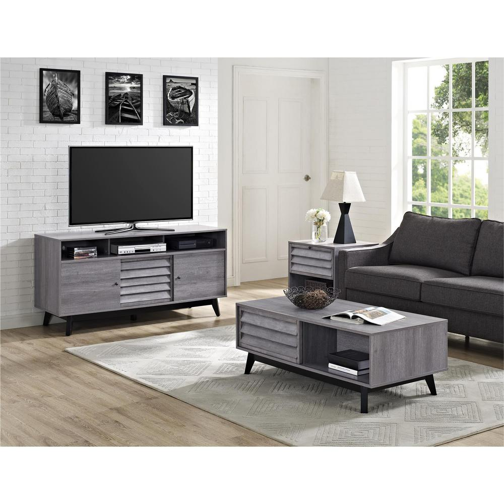 tv stand living room. Vaughn Gray 60 in  TV Stand Stands Living Room Furniture The Home Depot