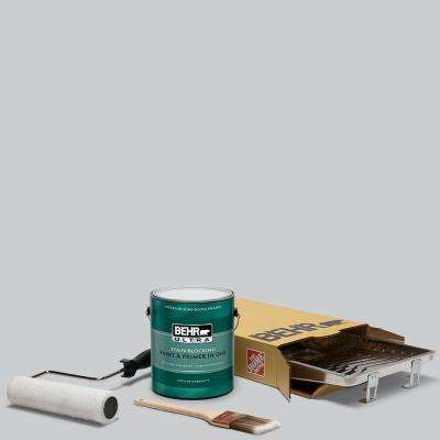 1 gal. #PPU26-16 Hush Ultra Semi-Gloss Enamel Interior Paint and 5-Piece Wooster Set All-in-One Project Kit