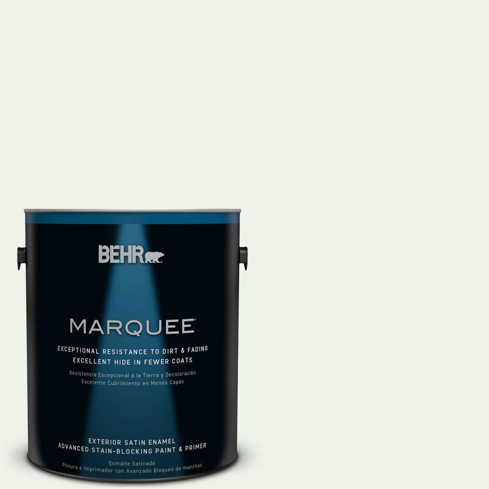 1-gal. #M370-1 Fresh Dew Satin Enamel Exterior Paint
