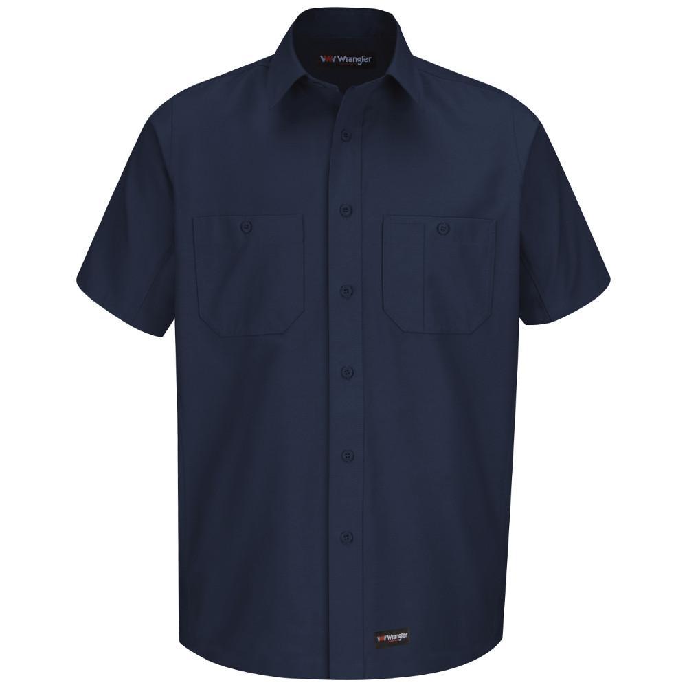 Men's X-Large Navy Work Shirt