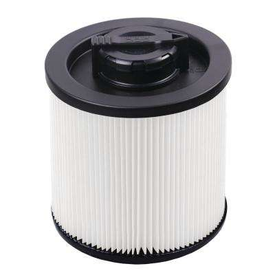 Standard Cartridge Filter for 4 Gal. DeWalt Wet/Dry Vacuum