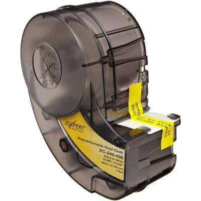 IDXPERT 0.24 in. x 20 ft. Terminal Block Marker Labels