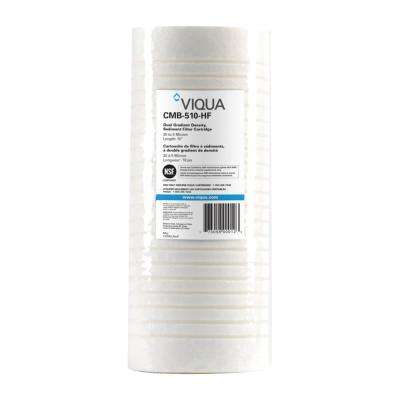 Replacement High-flow sediment dirt and rust filter cartridges 4.5 in. x 10 in.