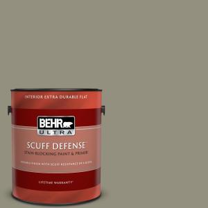 Behr Ultra 1 Gal 700f 5 Wild Sage Extra Durable Flat Interior Paint And Primer In One 172301 The Home Depot