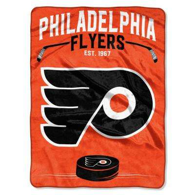 Flyers Inspired Multi-Color Polyester Raschel Blanket