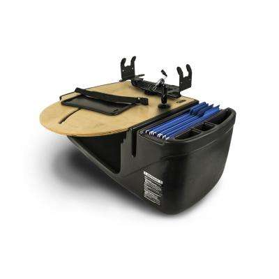 Roadmaster Car Desk with Phone Mount and Printer Stand Blonde