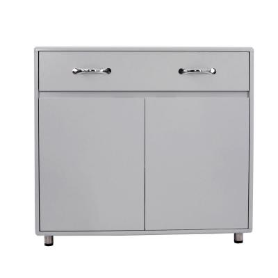Grey Contemporary Accent Storage Cabinet