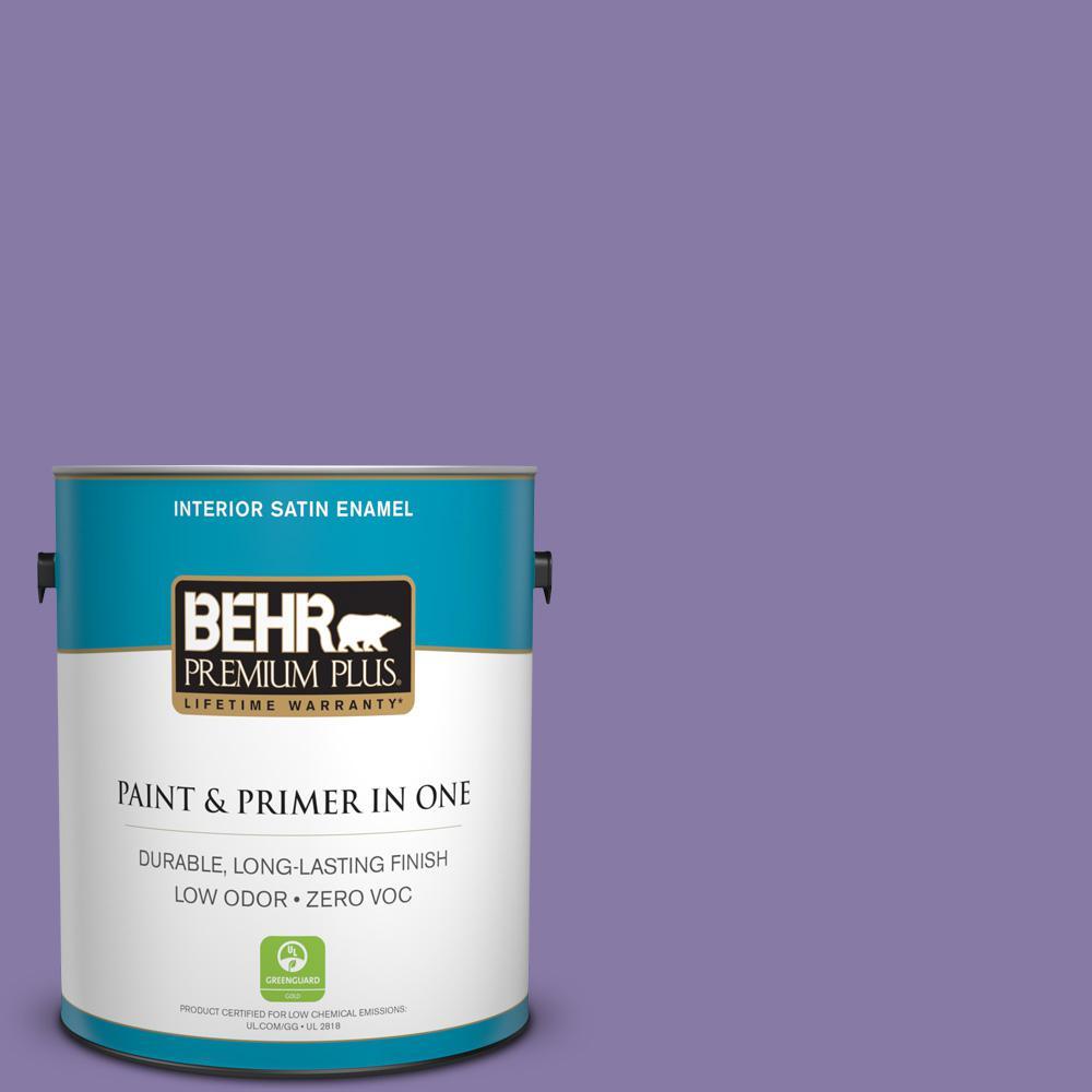 1-gal. #M560-5 Second Pour Satin Enamel Interior Paint