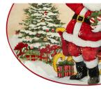 Certified International Holiday Wishes by Susan Winget 16.5 in. Oval Platter