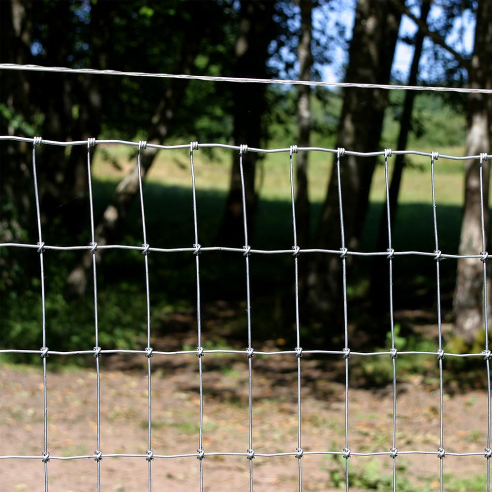 Barbless Wire Roll 1320 ft 12.5-Gauge Utility Outdoor Garden Livestock Fencing