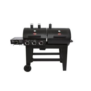 3 Burner Gas And Charcoal Grill In