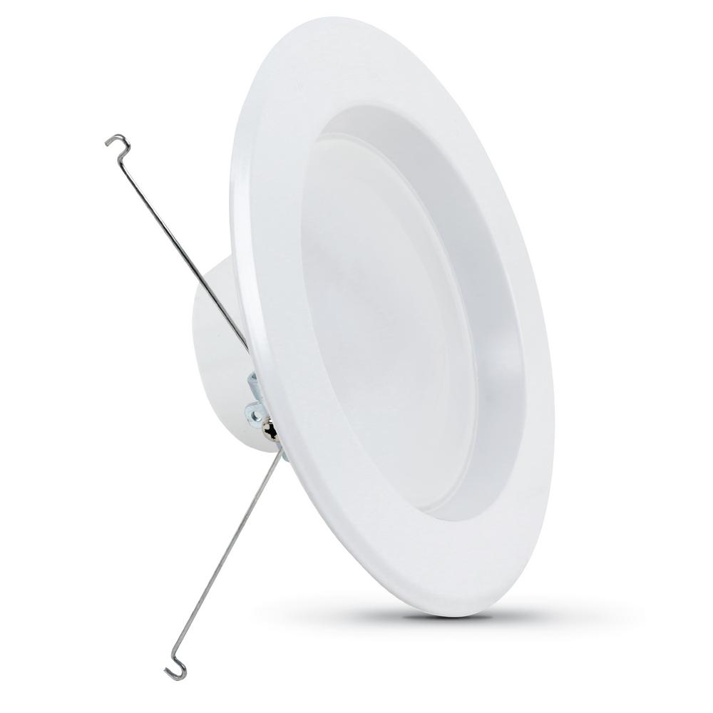 5 in./6 in. Dimmable CEC Title 24 White Integrated LED Recessed