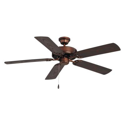 Basic-Max 52 in. Outdoor Oil Rubbed Bronze Ceiling Fan