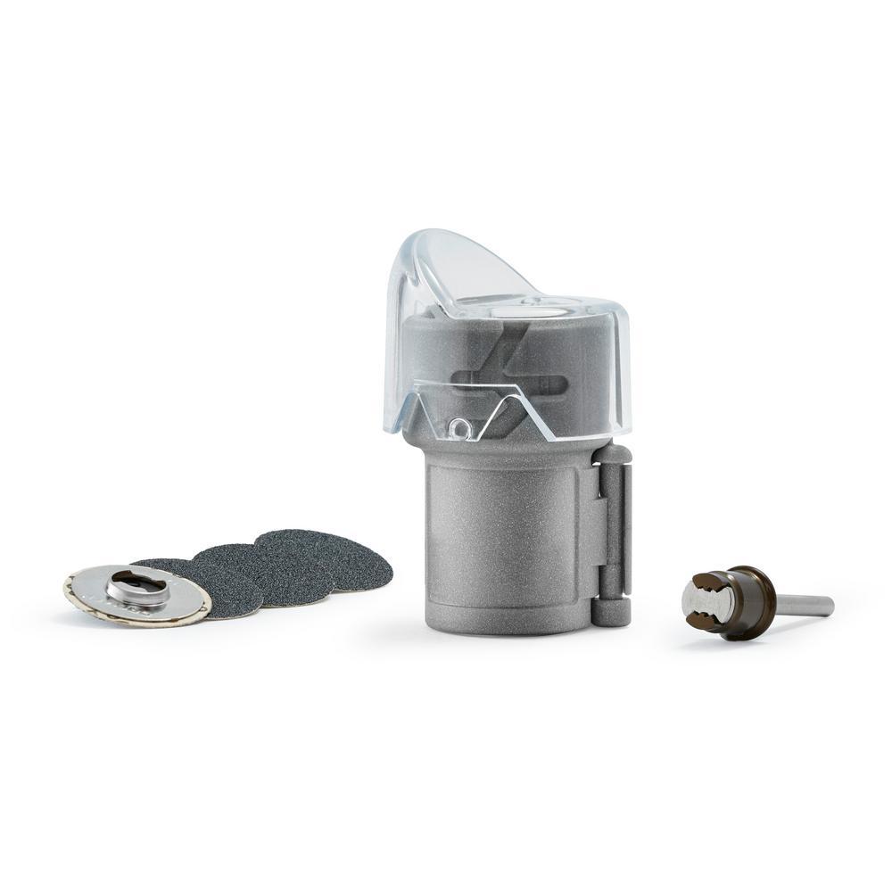 Pet Grooming Nail Guard Kit with 4 Grooming Discs and EZ Lock Mandrel
