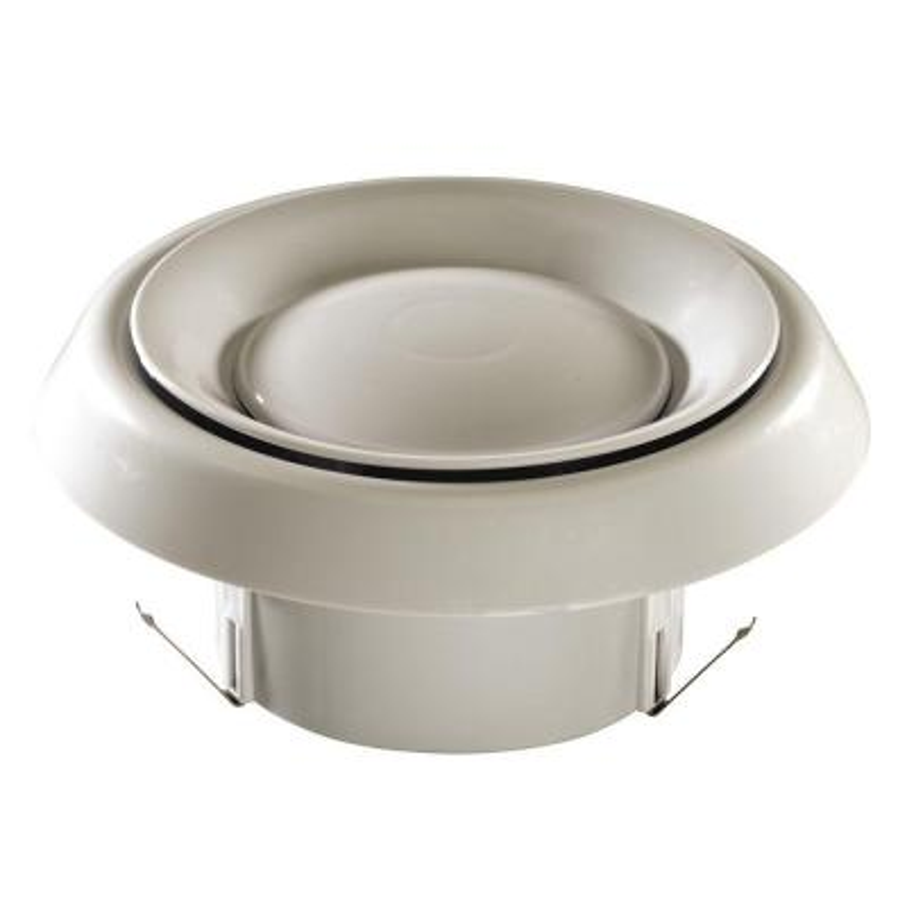 4 in. Grille for In-Line Ventilator