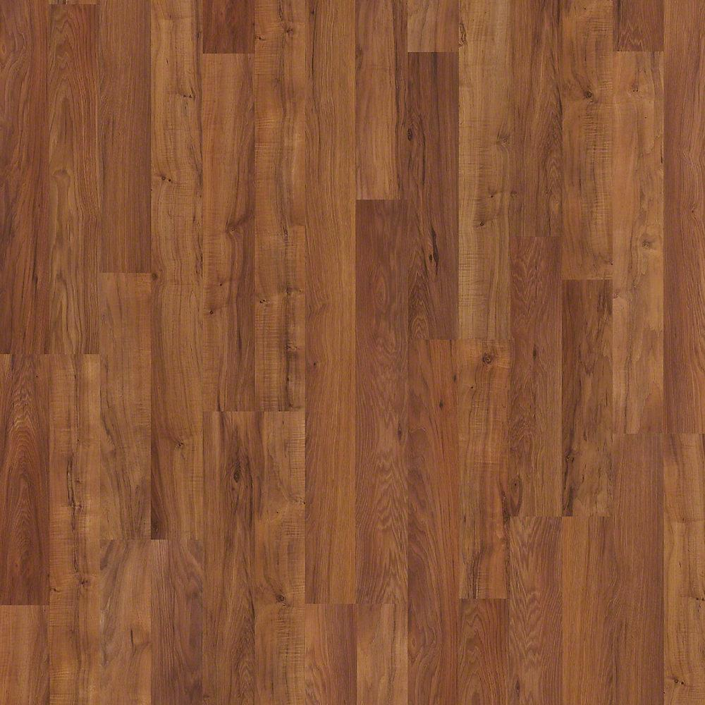 Shaw Native Collection II Faraway Hickory 10 mm Thick x 7.99 in. W x 47-9/16 in. Length Laminate Flooring(21.12sq.ft./case)