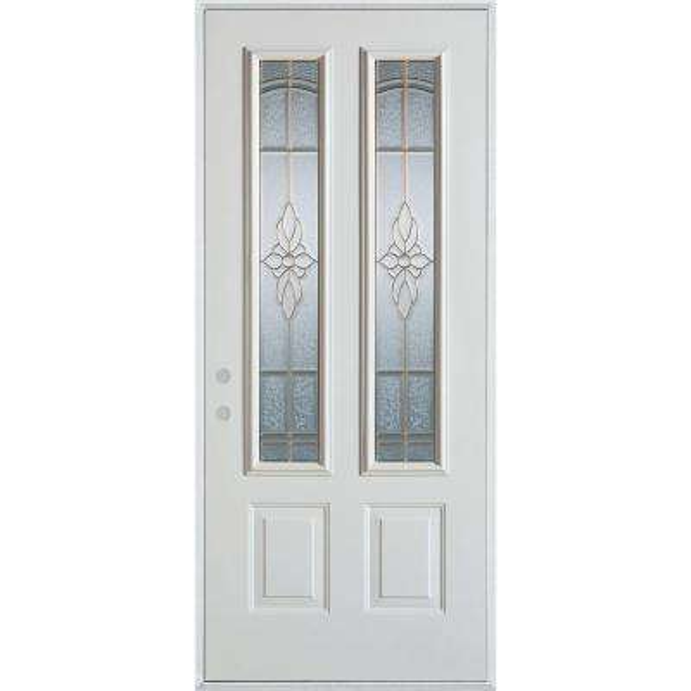 32 X 80 2 Lite Doors With Glass Steel Doors The Home Depot