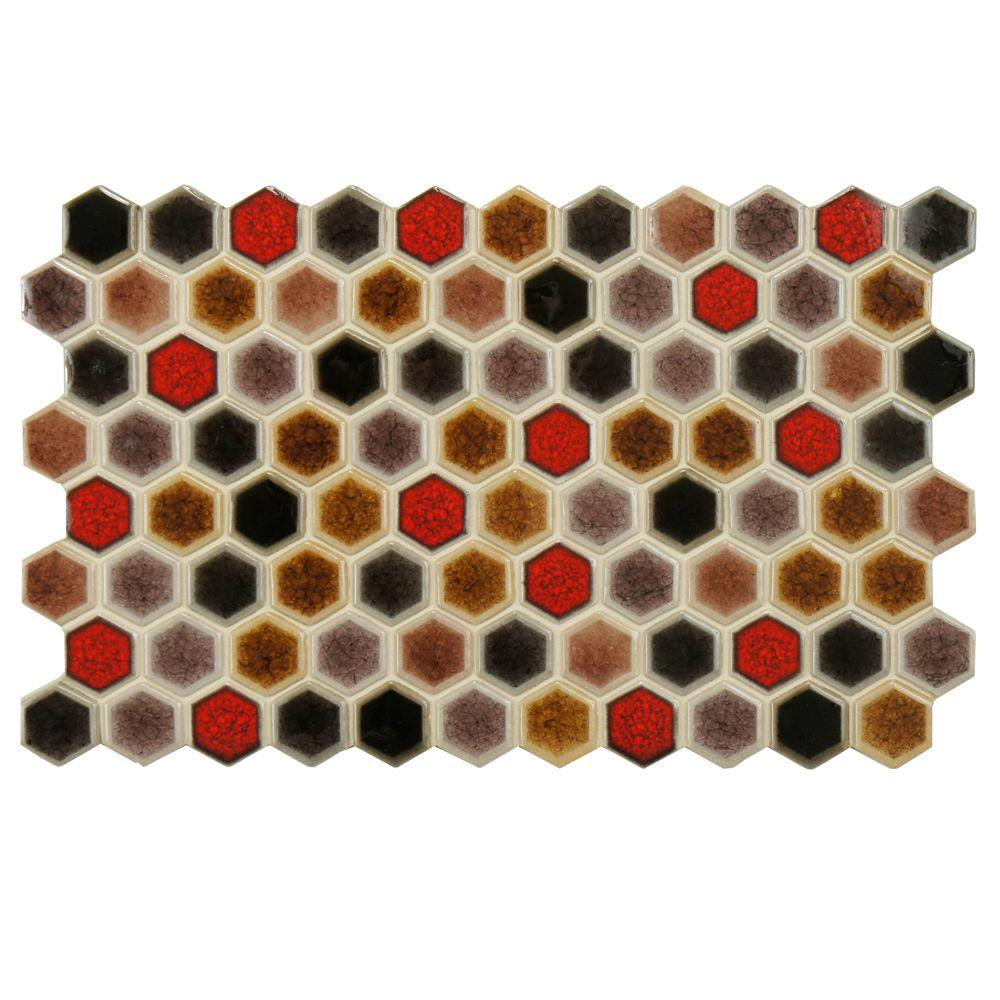 Merola Tile Casella Colore 5-1/2 in. x 9 in. Porcelain Floor and Wall Tile