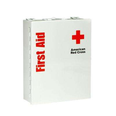 137-Piece Medium Food Industry First Aid Kit Smart Compliance Cabinet