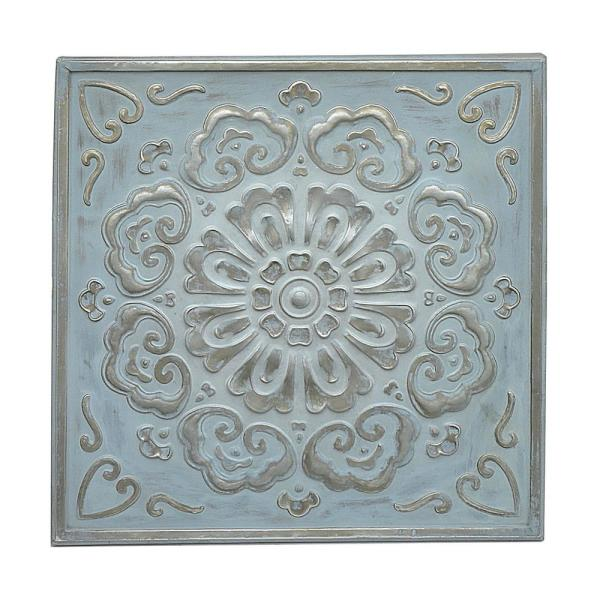 Three Hands Square Medallion Wall Art 57523 The Home Depot