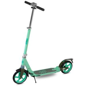 Scooride Jiffi J-40 Premium Folding Adult Kick Scooter in Green by Scooride