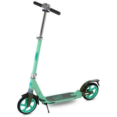 Jiffi J-40 Premium Folding Adult Kick Scooter in Green