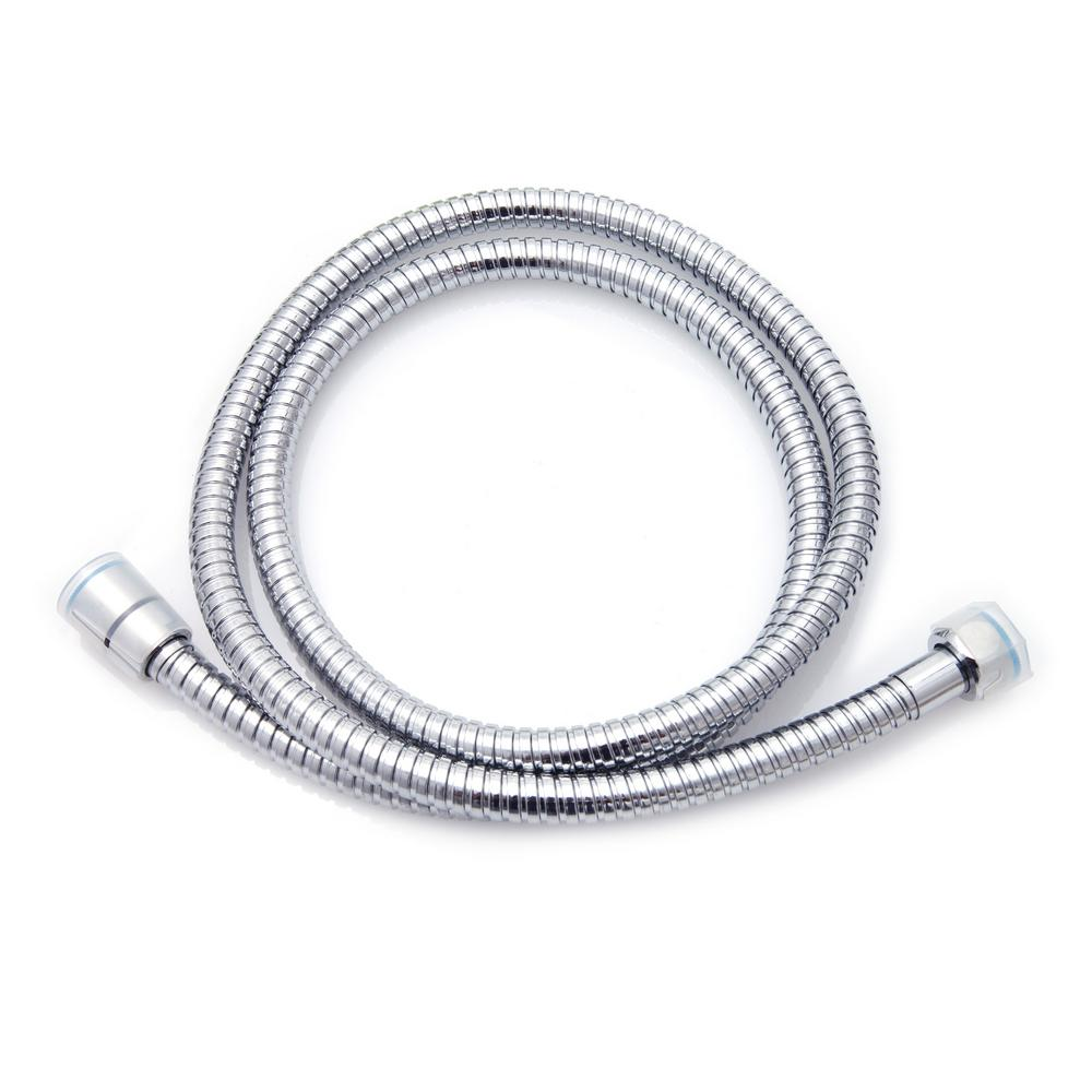 100 in. Stainless Steel Replacement Shower Hose in Chrome