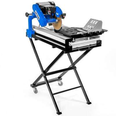 15.5 Amp 7.25 in. Corded Wet Tile Saw with Stand