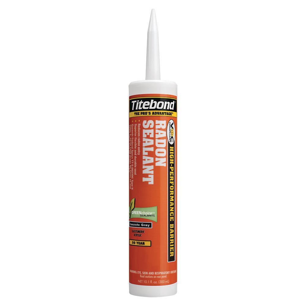 Titebond 10.1 oz. Gray Radon Sealant (12-Pack)