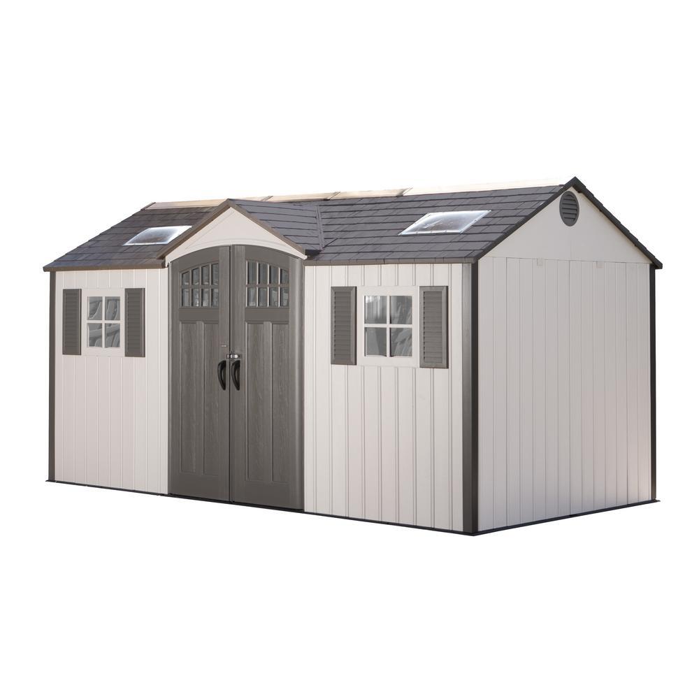 Lifetime 15 ft. x 8 ft. Garden Building Shed