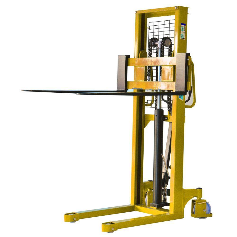 BLACK BULL 2200 lb. Capacity Hydraulic Pallet Mover