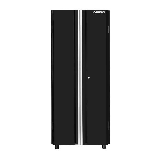 Husky 72 in. H x 30 in. W x 18 in. D Steel Tall Garage Cabinet