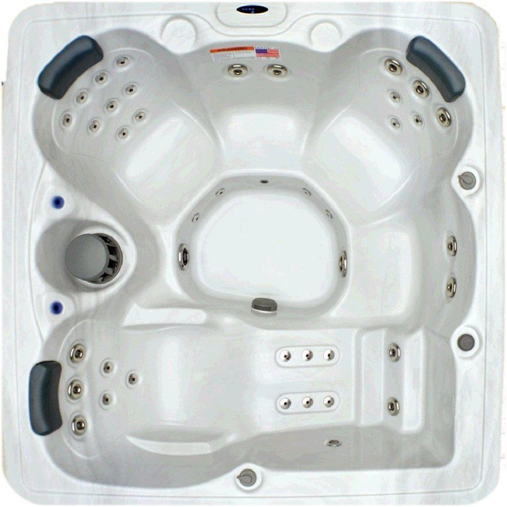 Home and Garden Spas 5 Person 51 Jet Spa with Stainless Jets and ...