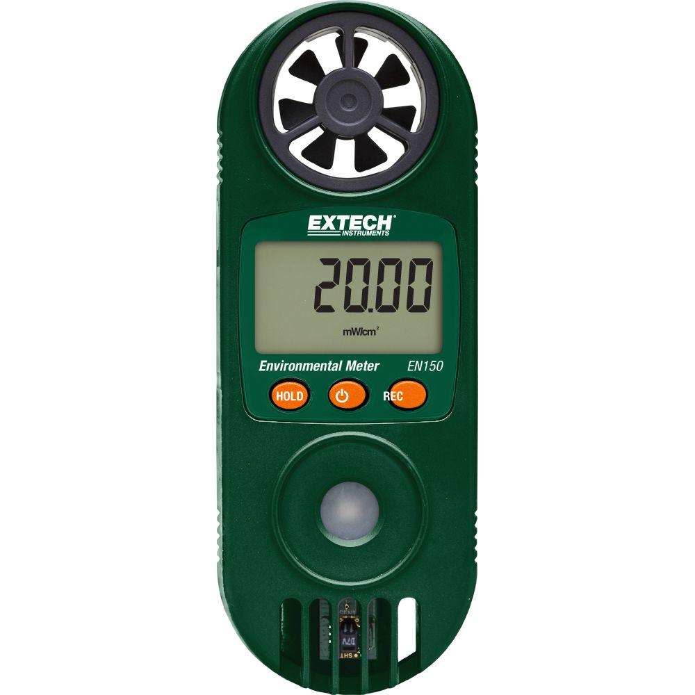 11-in-1 Environmental Meters with UV Light Sensor