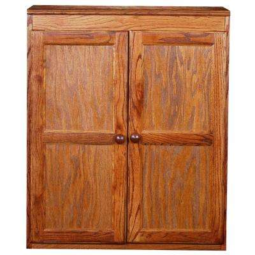 Dry Oak Multi-Use Storage Pantry