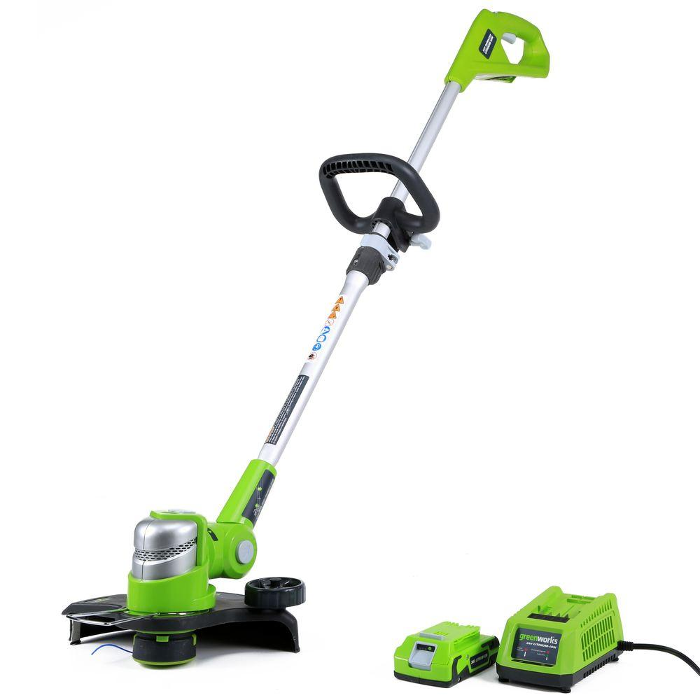 G-24 24-Volt Cordless String Trimmer - Battery and Charger Included