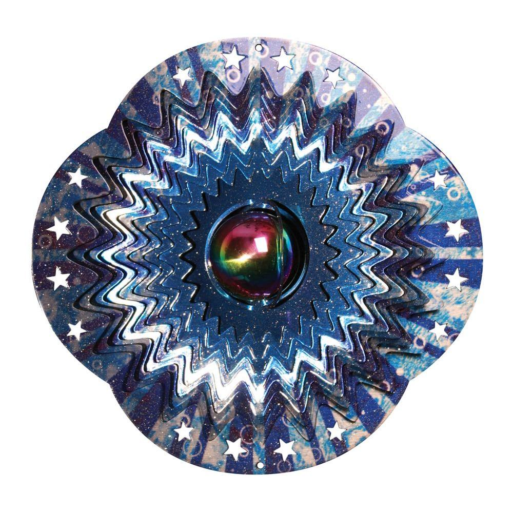 Iron Stop Designer Water Gazing Ball Wind Spinner-DISCONTINUED