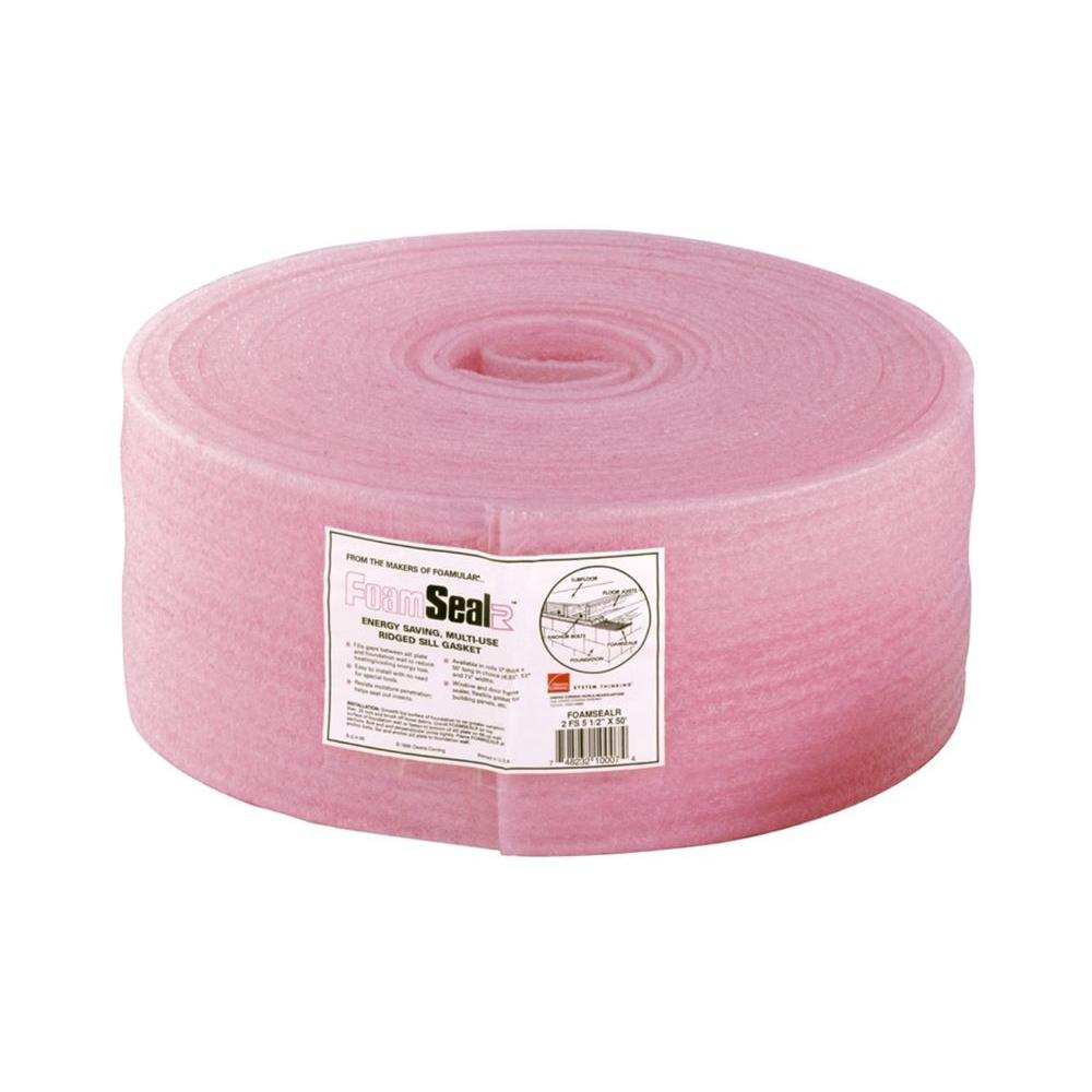 Owens Corning Foam SealR Sill Plate Gasket 5-1/2 in. x 50 ft.