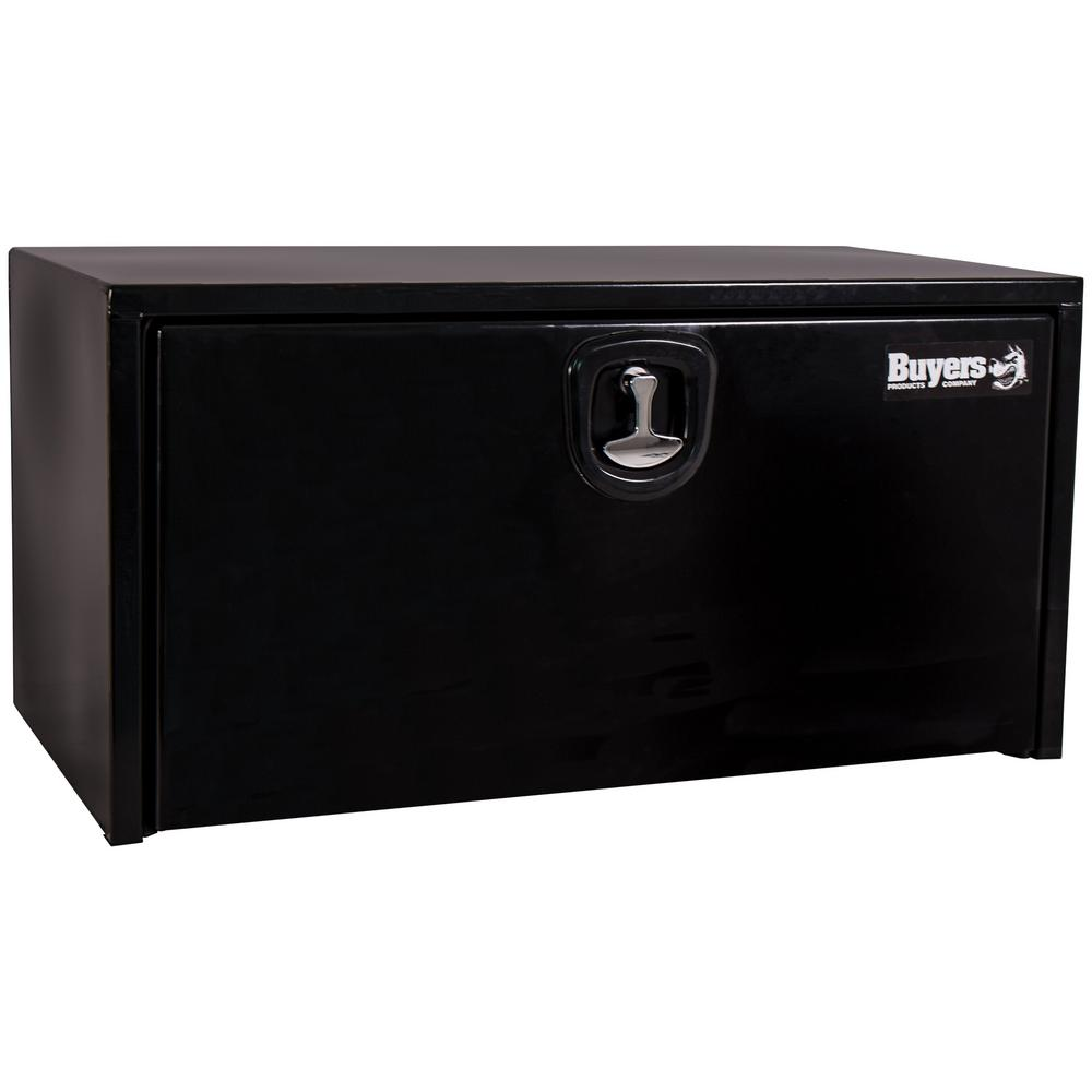 18 in. x 18 in. x 36 in. Black Steel Underbody