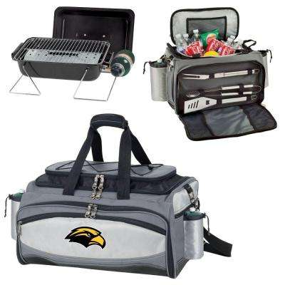 Southern Miss Golden Eagles - Vulcan Portable Propane Grill and Cooler Tote by Picnic Time with Embroidered Logo