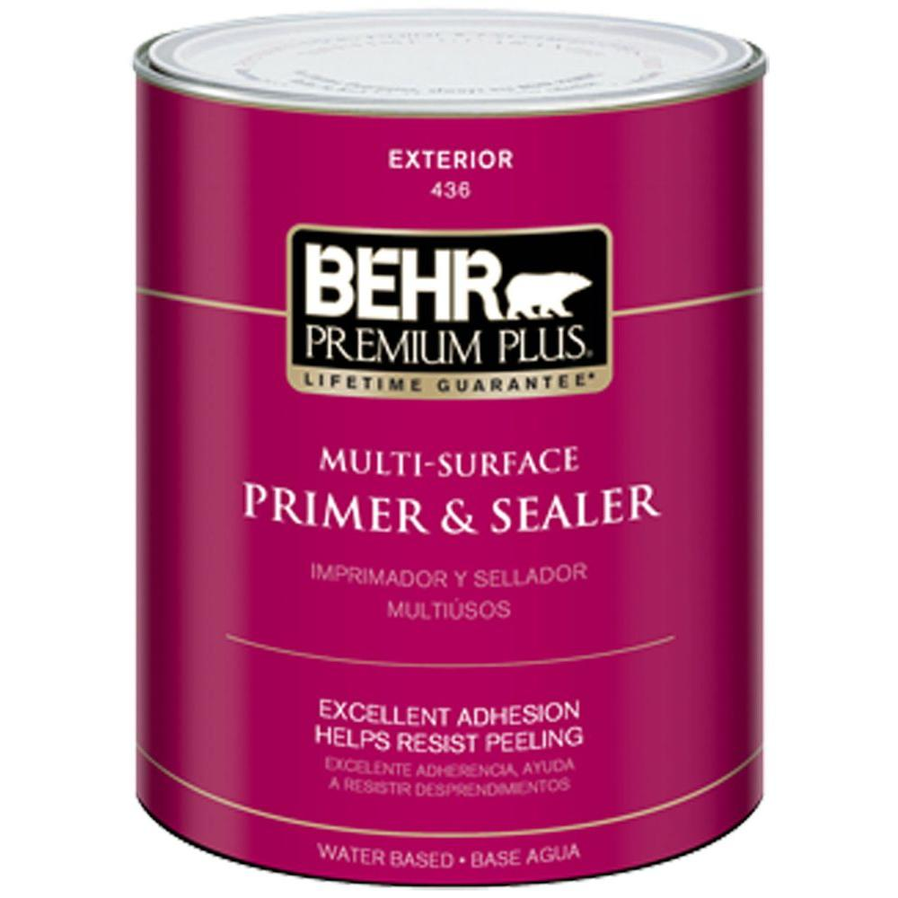 BEHR Premium Plus 1-Qt. Multi-Surface Exterior Primer and Sealer