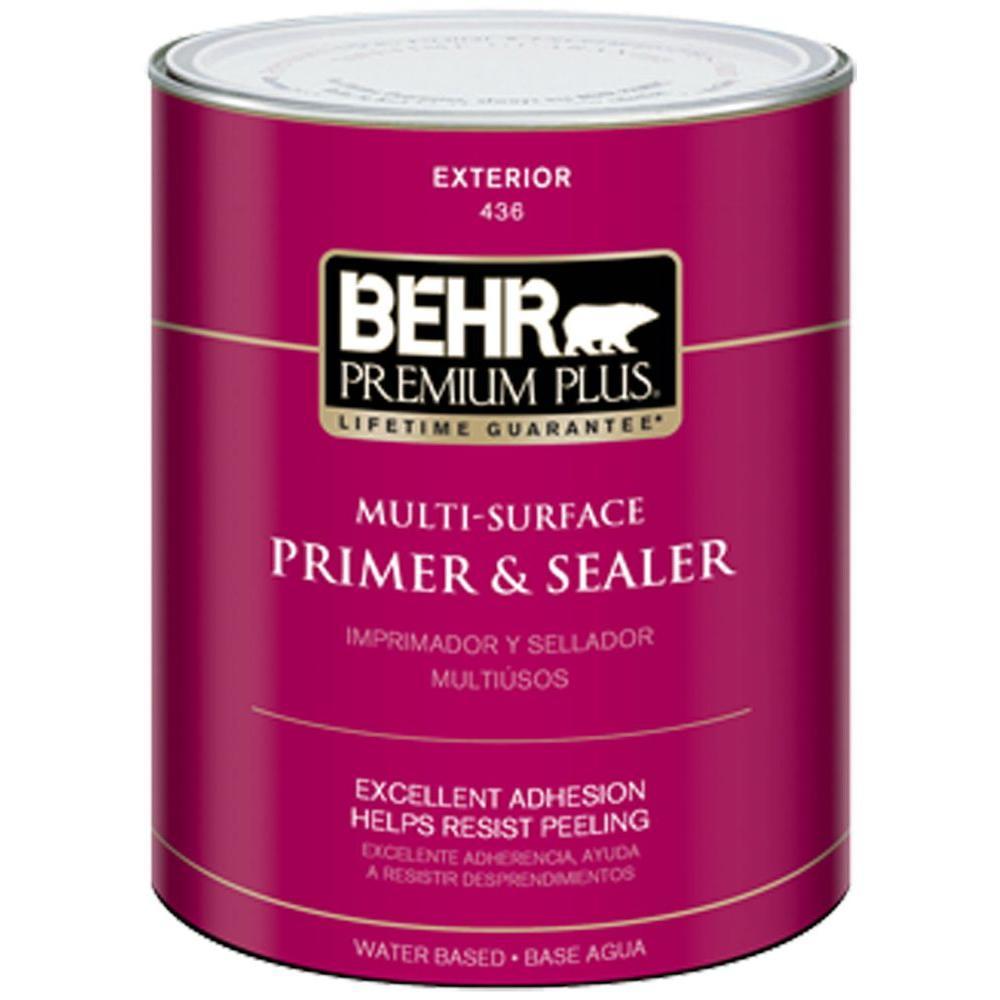 High Quality BEHR Premium Plus 1 Qt. Multi Surface Exterior Primer And Sealer