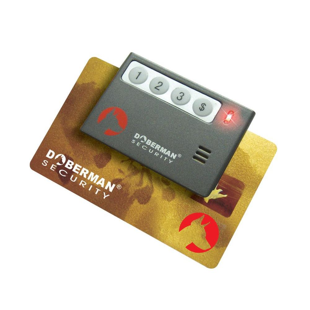Doberman Security Credit Card Reminder