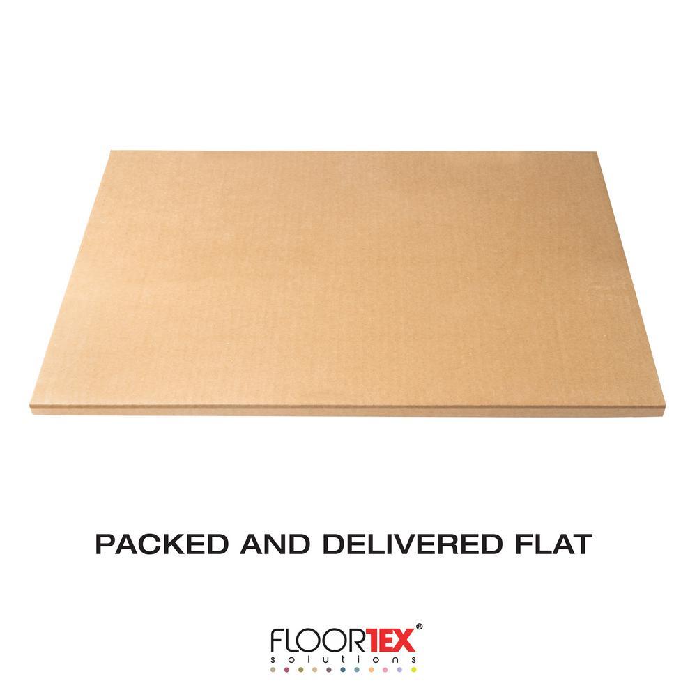 Glaciermat® Heavy Duty Glass Chair Mat for Hard Floors & Carpets - 36 in. x 48 in.