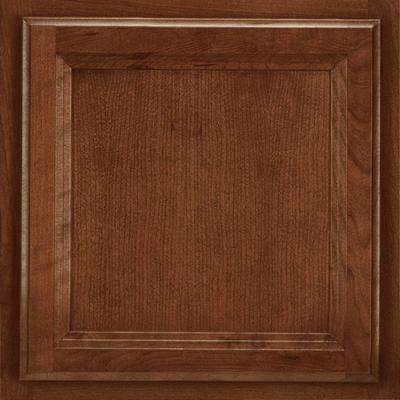 13x12-7/8 in. Cabinet Door Sample in Ashland Cherry Spice