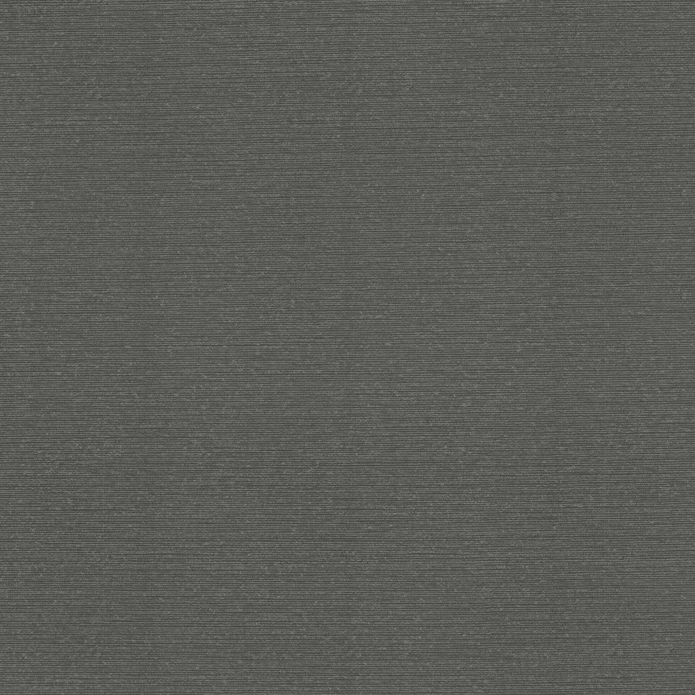 60.8 sq. ft. Hamilton Black Fine Weave Wallpaper