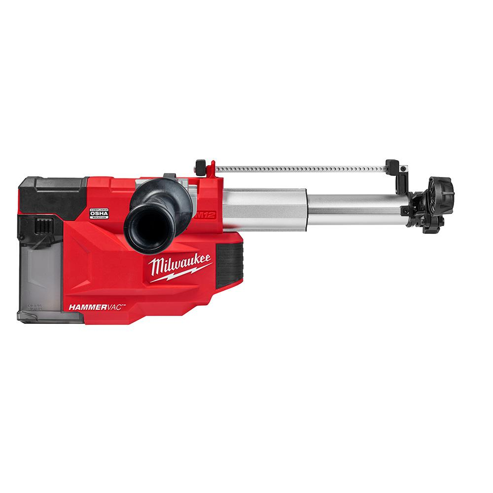 Milwaukee - M12 12-Volt Lithium-Ion Cordless HAMMERVAC Universal Dust Extractor (Tool-Only) - 2509-20