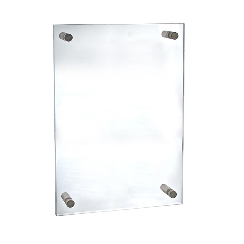 18 in. x 24 in. Standoff Acrylic Sign Holder