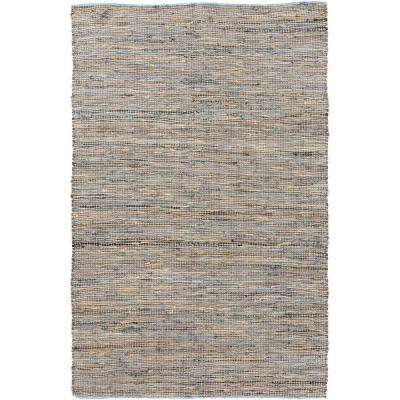 Aeri Taupe 5 ft. x 8 ft. Indoor Area Rug